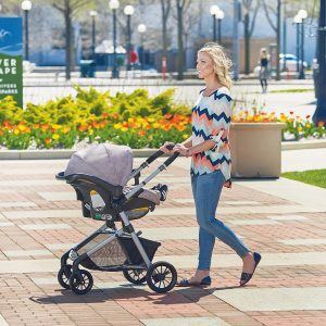 Evenflo Pivot Modular Travel System with infant car seat
