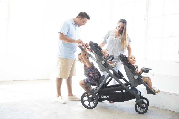 Joovy Qool - Expandable stroller for one, two or three kids